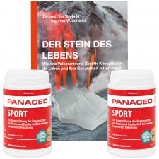 Panaceo Sport *Doppelpack inklusive Buch*